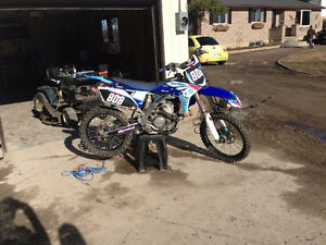 Very clean very fast yz250f.  Cheap price to sell fast! Peterborough Peterborough Area image 2