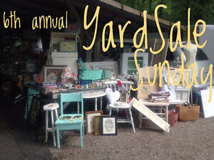 6th Annual Yard Sale Sunday - Grand Bend Garage Sale