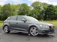 Audi A3 2.0 TDI S Line Sportback 5dr (grey) 2013