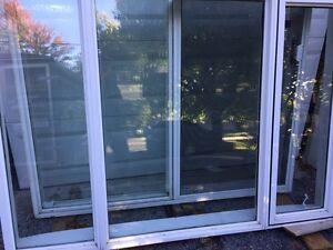 Fixed/ fixed/ casement vinyl window