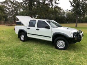 2011 Isuzu D-MAX TF MY10 SX (4x4) White 4 Speed Automatic Dual Cab Utility Coonamble Coonamble Area Preview
