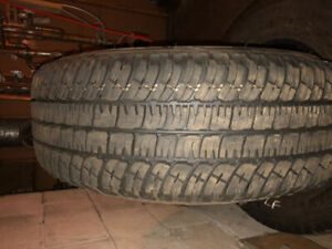 4 Michelin tires for sale. Size 265/70 R17