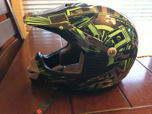 Kids motorbike helmet- medium size