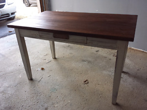Perfectly Imperfect rustic kitchen table