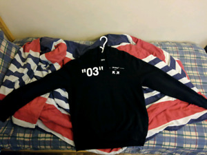 """Off White Arrows """"03"""" Hoodie [Large]"""