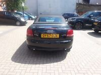 Audi A4 2.0 TDI Convertible 2007 Facelift Spotless drive bargain Mint! Not BMW golf