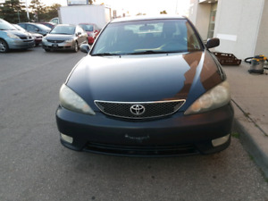 2005 toyota camry, certified, free accidant ,waranty