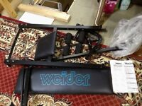 Weider Weight Bench (Weights not included)
