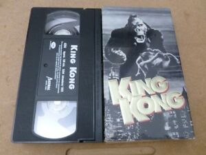 VHS Movies King Kong Fay Wray Original horror classic