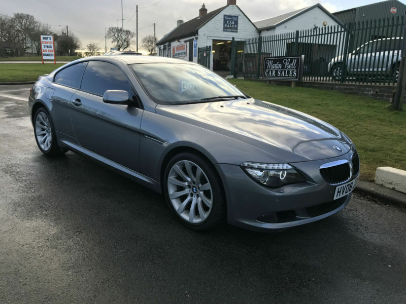 08 bmw 635d sport coupe 82000 miles fsh high spec in darlington county durham gumtree. Black Bedroom Furniture Sets. Home Design Ideas