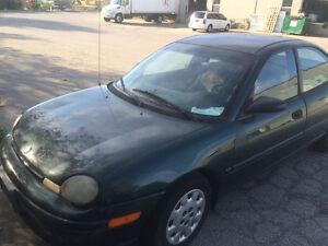 1998 Plymouth Neon Sedan