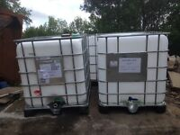 Ibc water tanks 1000 litres
