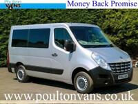 2012(62) RENAULT MASTER SL30 PASSENGER L1H1 4SEAT WHEELCHAIR DISABLED ACCESS BUS