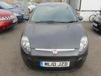 2010 Fiat Punto Evo Hatch 3Dr 1.4 8V 77 SS EU5 Active Petrol grey Manual