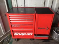 Snap On Roll cab & side cabinet