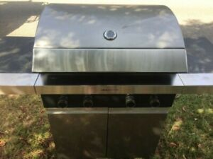 "HIGH QUALITY MADE ""NEIL PERRY"" 4 BURNER BBQ GRILL"