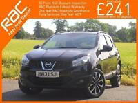 2013 Nissan Qashqai 1.6 360 5 Speed Pan Roof Sat Nav Rear Cam Bluetooth Just 1 L