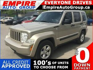 2011 JEEP LIBERTY SPORT * 4WD * PREMIUM CLOTH SEATING * POWER GR