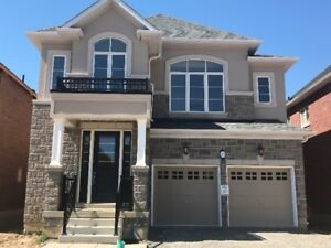 Brand New house with 4 bedrooms and 3.5 washrooms for rent