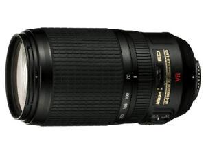 Nikon 70-300mm f/4.5-5.6G ED IF AF-S VR Nikkor Zoom Lens DEAL !