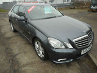MERCEDES E220 AUTO DIESEL 4 DOOR SE LEATHER 59 PLATE