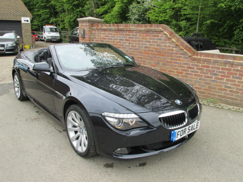 2010 10 bmw 6 series 630i sport auto convertible fully loaded in kingsnorth kent gumtree. Black Bedroom Furniture Sets. Home Design Ideas
