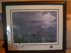 """Signed and Numbered Print by Michael Pape """"Through The Storm"""" Windsor Region Ontario image 7"""
