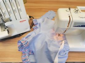 Polish seamstress making and repairing all kinds of clothes