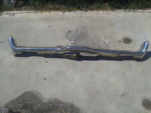 Factory used front bumper off of a 1970 Mercury Cougar (BP0108)
