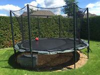 Jumpsport VariableBounce 14ft Trampoline AlleyOop