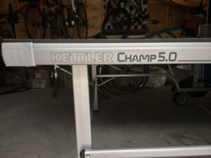 Kettler Champ 5.0 Indoor/Outdoor Ping Pong table