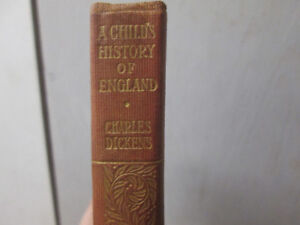 A Child's History of England - Charles Dickens Vintage Book