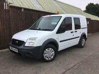 Ford Transit Connect Crew Van 1.8TDCi T220 SWB**FACTORY FITTED CREW VAN**