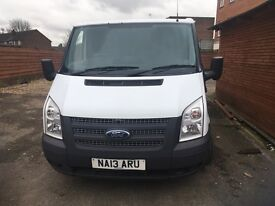 FORD TRANSIT 280 SWB 2013(13) DIESEL FWD TDCI100ps ONE OWNER FULL SERVICE HISTORY **NO VAT**