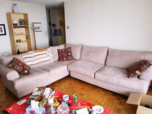 Huge sectional and chaise
