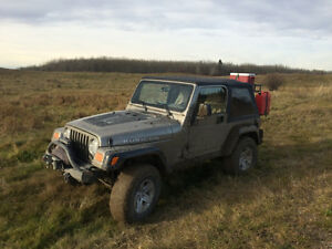 2005 Jeep TJ Rubicon SUV, Crossover