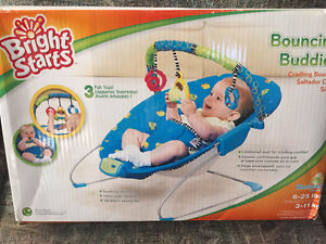 Bright Starts Bouncy Chair - NEW - never used