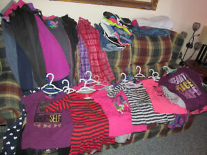 Girls clothes sizes 10/12 to 14/16