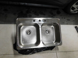 Nautica double bowl stainless steel kitchen sink