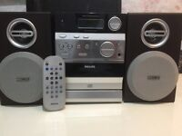 Philips stereo cd radio and cassette remote