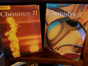Nelson Chemistry and Biology Textbooks 11 & 12