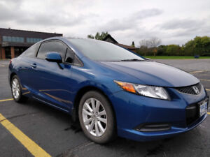 EXCELLENT CONDITION - 2012 Honda Civic EX Coupe - A MUST SEE!!