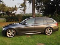 2012 62 BMW 3 Series 3.0 330d M Sport Touring Auto SAT NAV MEDIA ESTATE DIESEL