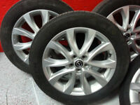 OEM Mazda CX5 Rims with Toyo tires and TPMS installed