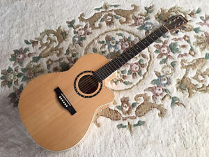 Norman Encore series B20 Folk with cutaway and Fishman pickup