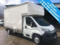 2014 64 CITROEN RELAY LUTON 130BHP LWB WITH TAIL LIFT 3.6 METER LUTON BODY @ SVS