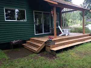 Shawnigan Lake Waterfront house for rent