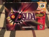 Zelda: Majora's Mask Collector's Edition - N64 - Complete in Box