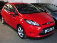 2011 '60' FORD FIESTA 1.25 82 BHP EDGE 5 Door Hatch B'Tooth IPOD USB * Only 49k*