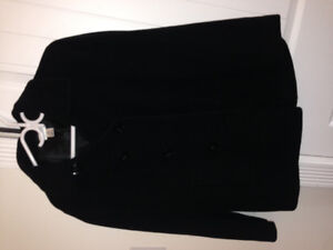 2 black maternity jackets- fall and winter